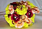 Корзинка с цветами и конфетами